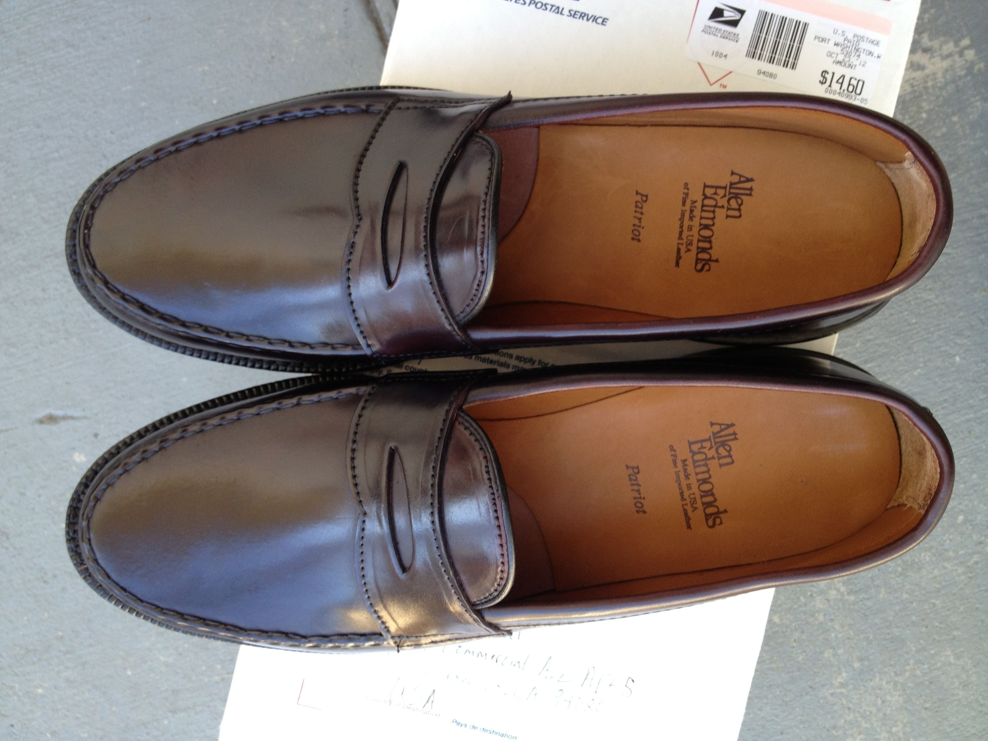 Cole Haan Cordovan Red Leather Pinch Tassel Loafer Moc Toe Dress Men/'s Shoes 13D