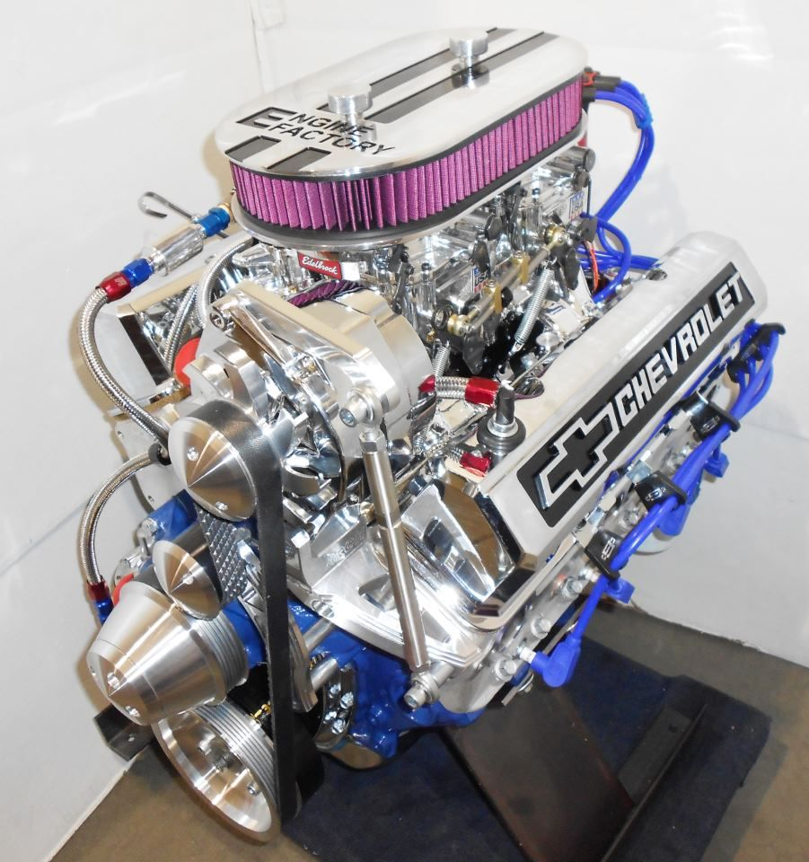 Chevy 383 stroker dual quad