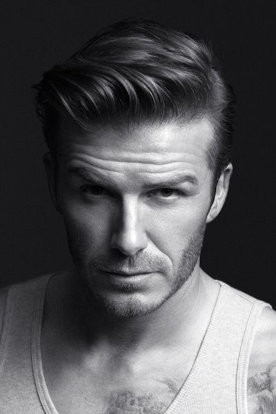 David Beckham has one of the best guy hairstyles ever   Black and ...