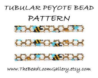 Bead Loom Cuff Bracelet Pattern Vol.1 Vol.2 por thebeadloomgallery