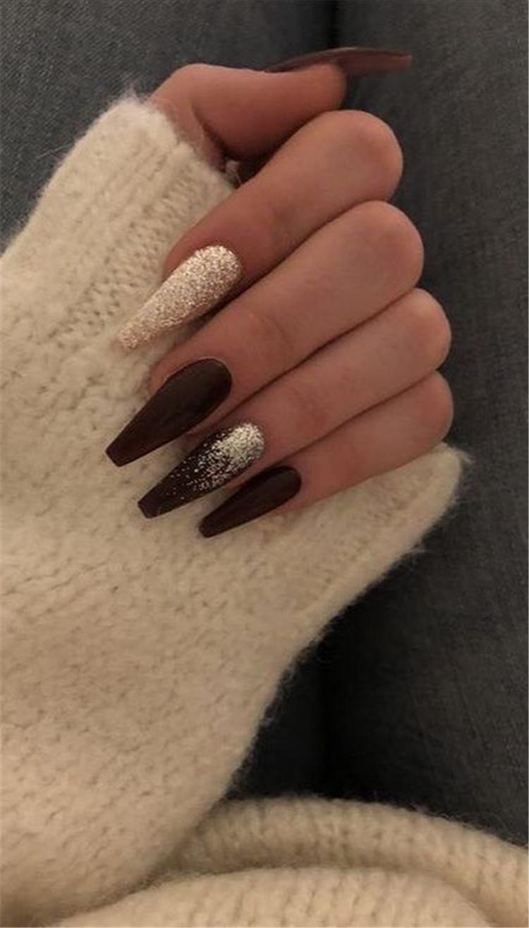 tana mongeau nails in 2020 | Winter nails acrylic, Short ...