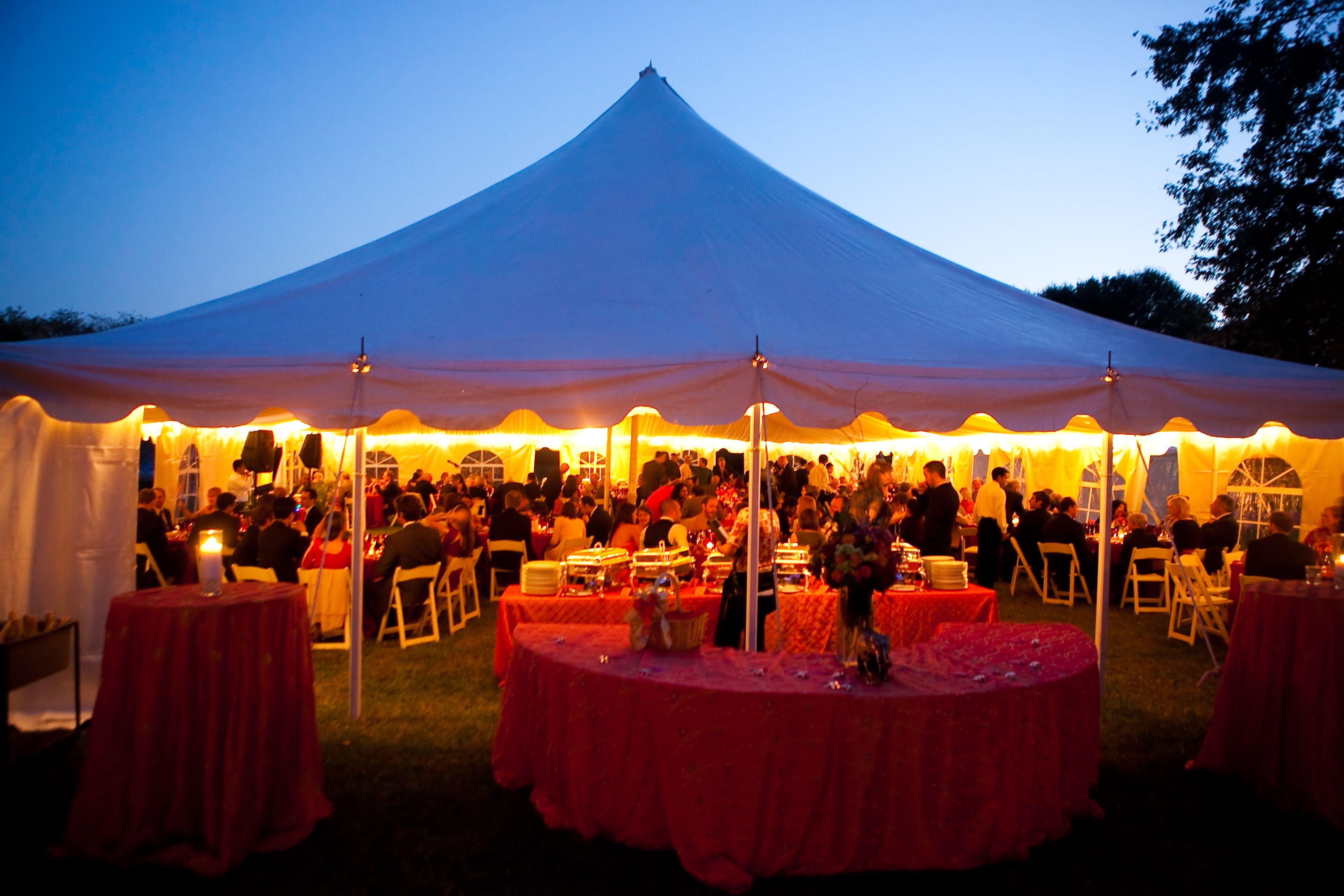 At Home Wedding Great Falls VA Lu0026A Tent Fall