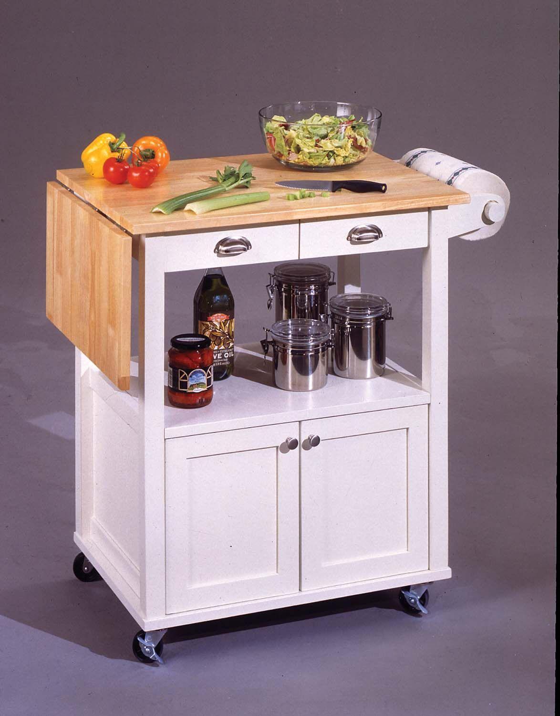 Gentil Kitchen Carts And Islands | KITCHEN CART DROP LEAF BREAKFAST ...