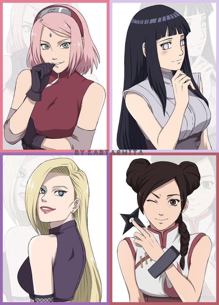 I Love Their Designs In The Last Especially Sakura S Hair Also On My Tumblr Kartasmita Tumblr Com Naruto Shippuden Anime Naruto Girls Naruto Shippuden Sasuke