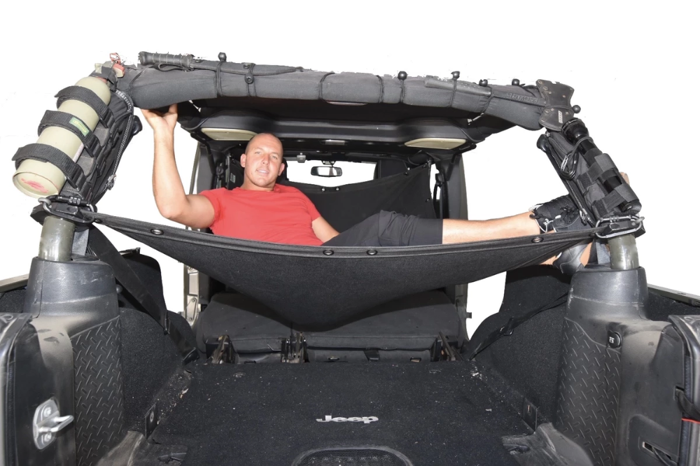 Jeep Wrangler Hammock By Jkloud For Jku 4 Door Jeep Wrangler