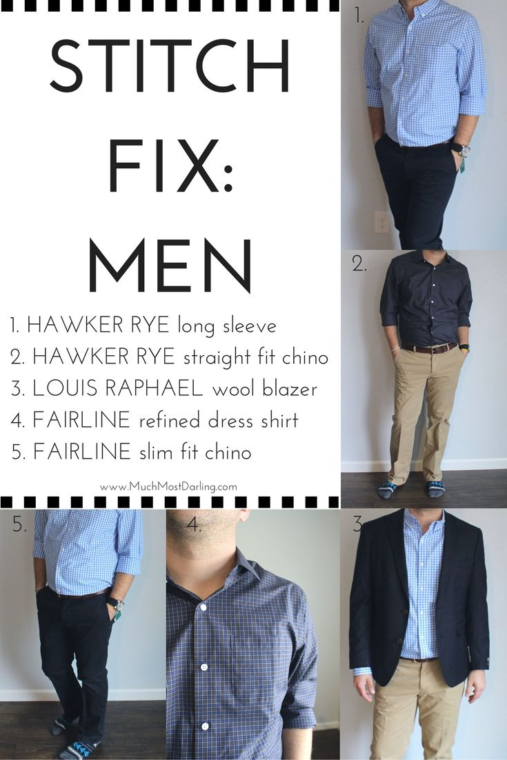 Stitch Fix Men: Unboxing + Review | Much.Most.Darling