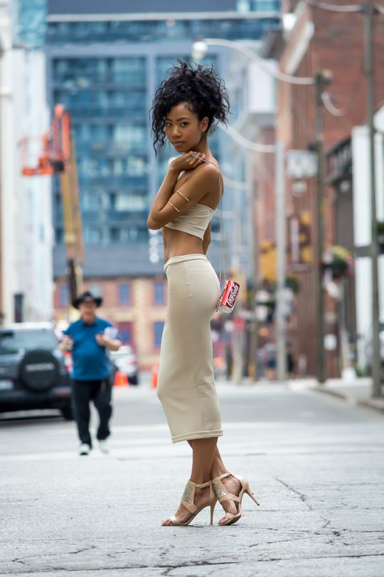 Afro Asian woman