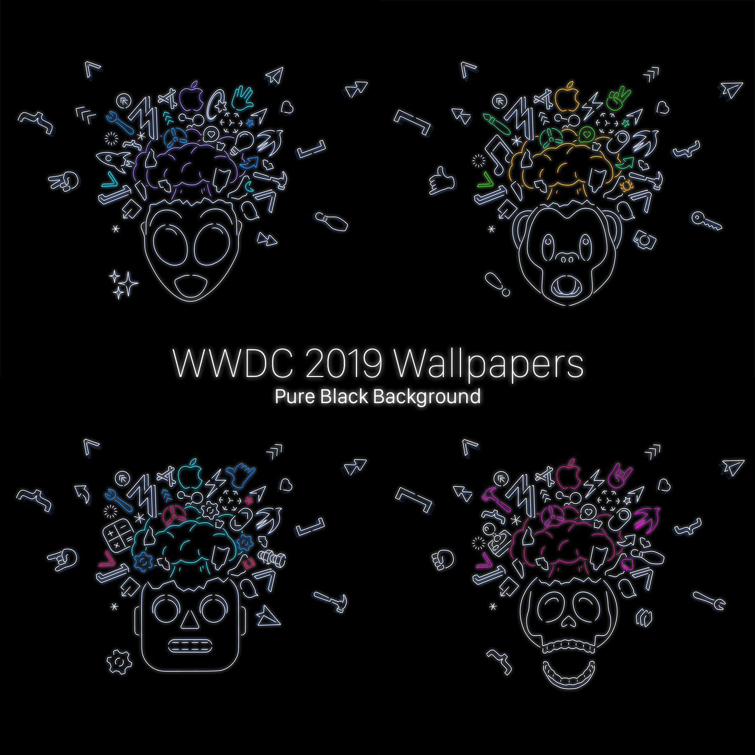 Wwdc 2019 Wallpapers Oledfied Iphone Wallpapers
