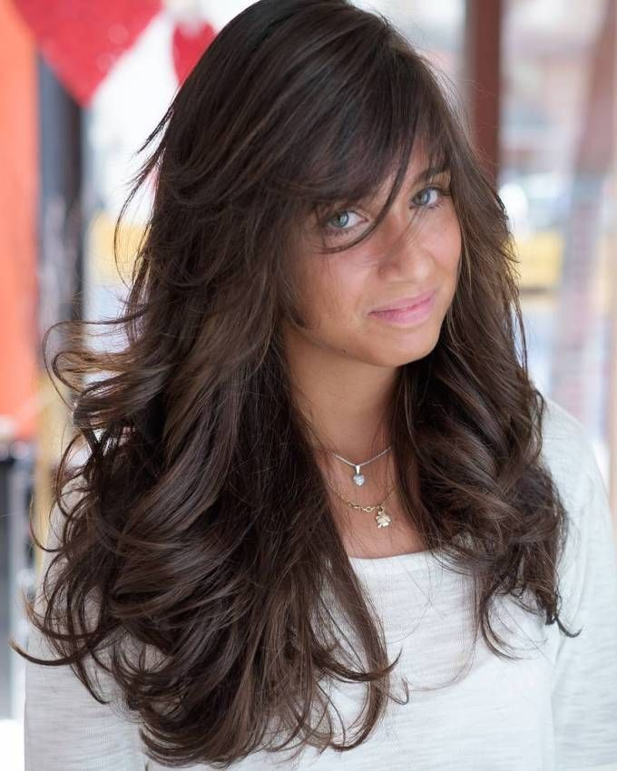 40 Side-Swept Bangs to Sweep You off Your Feet ...