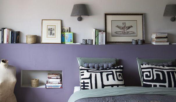 Couleur de chambre peinture d co pastel photos et - Couleur rouge chambre ...