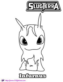 Slugterra Printables Activities And Coloring Pages Monster