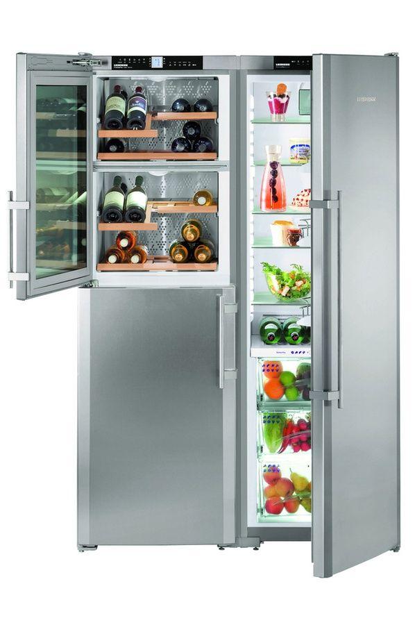 Réfrigérateur Multiportes Liebherr SBSES A - Réfrigérateur multi porte