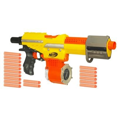 Custom Painted Rapid Strike CS-18 Nerf Gun
