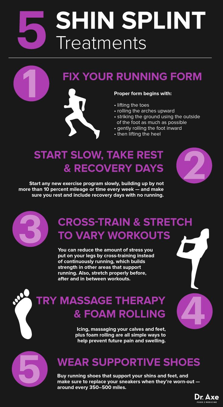 How to get rid of shin splints fast axe running and