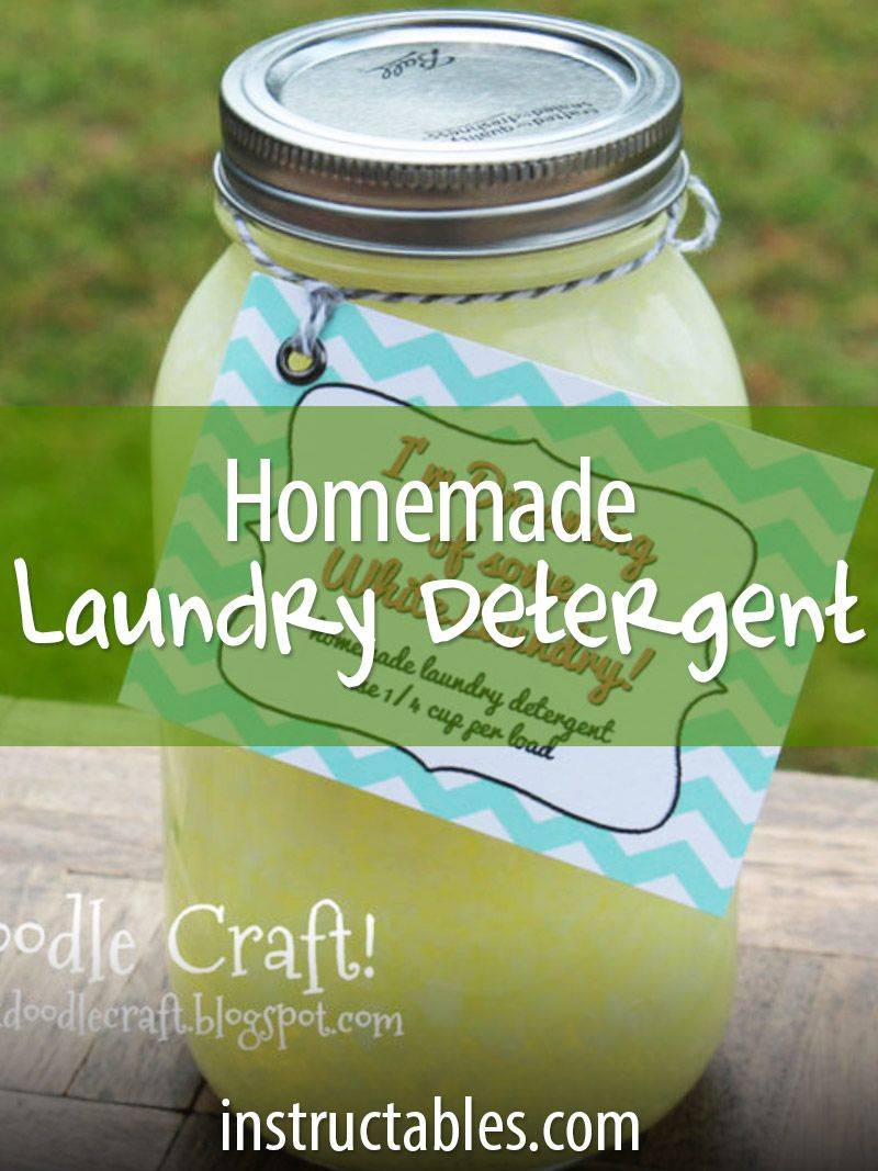 Laundry soap is expensive! If you're on a tight budget or you suffer from allergies, it's time to make your own.
