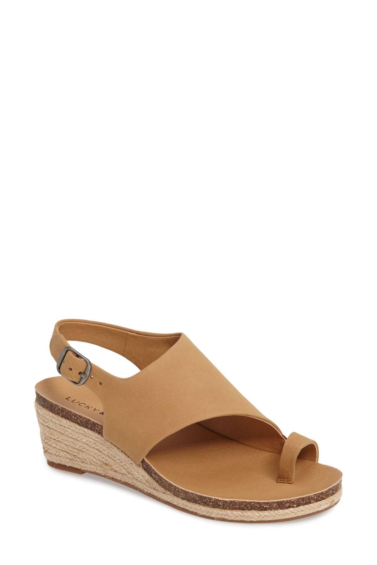 Lucky Brand Jannan Wedge Sandal (Women Wedge sandals