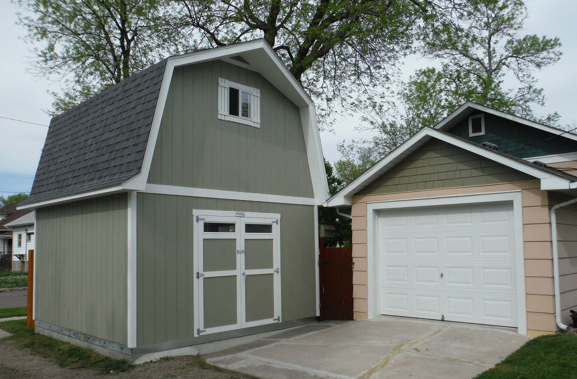 A Tuff Shed Building Will Put Every Other Building To Shame The Eaves On This Barn Add Style And Coverage From The Weather Shed Garage Prices Tough Shed