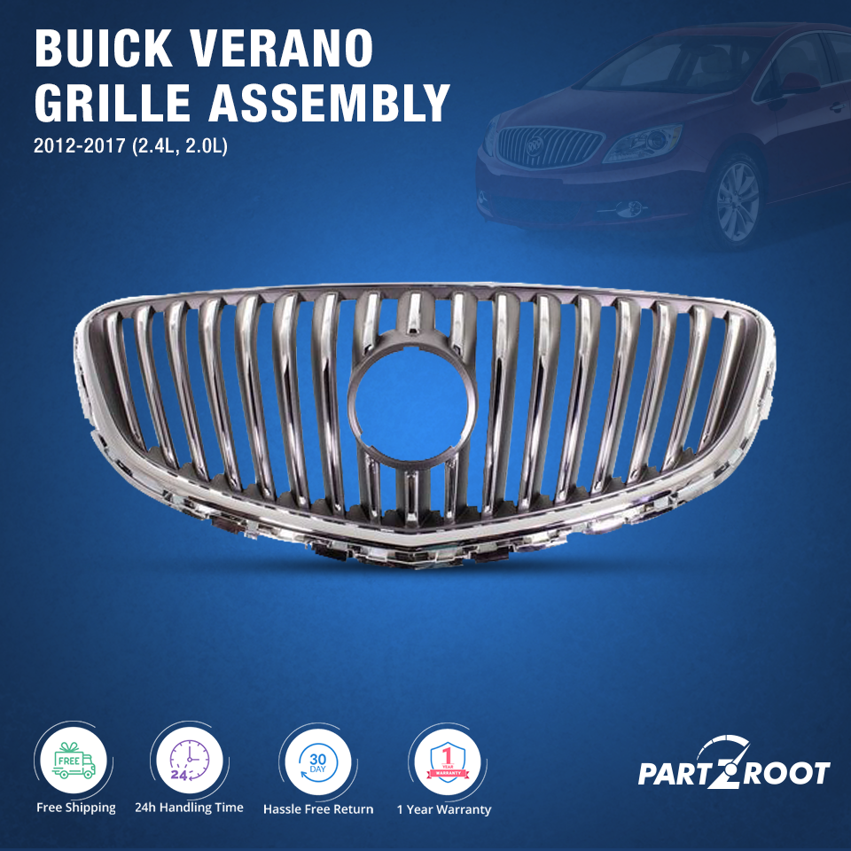 Find The Best Cheapest Car Grilles Online Partzroot Buick Verano Car Parts And Accessories Aftermarket Car Parts