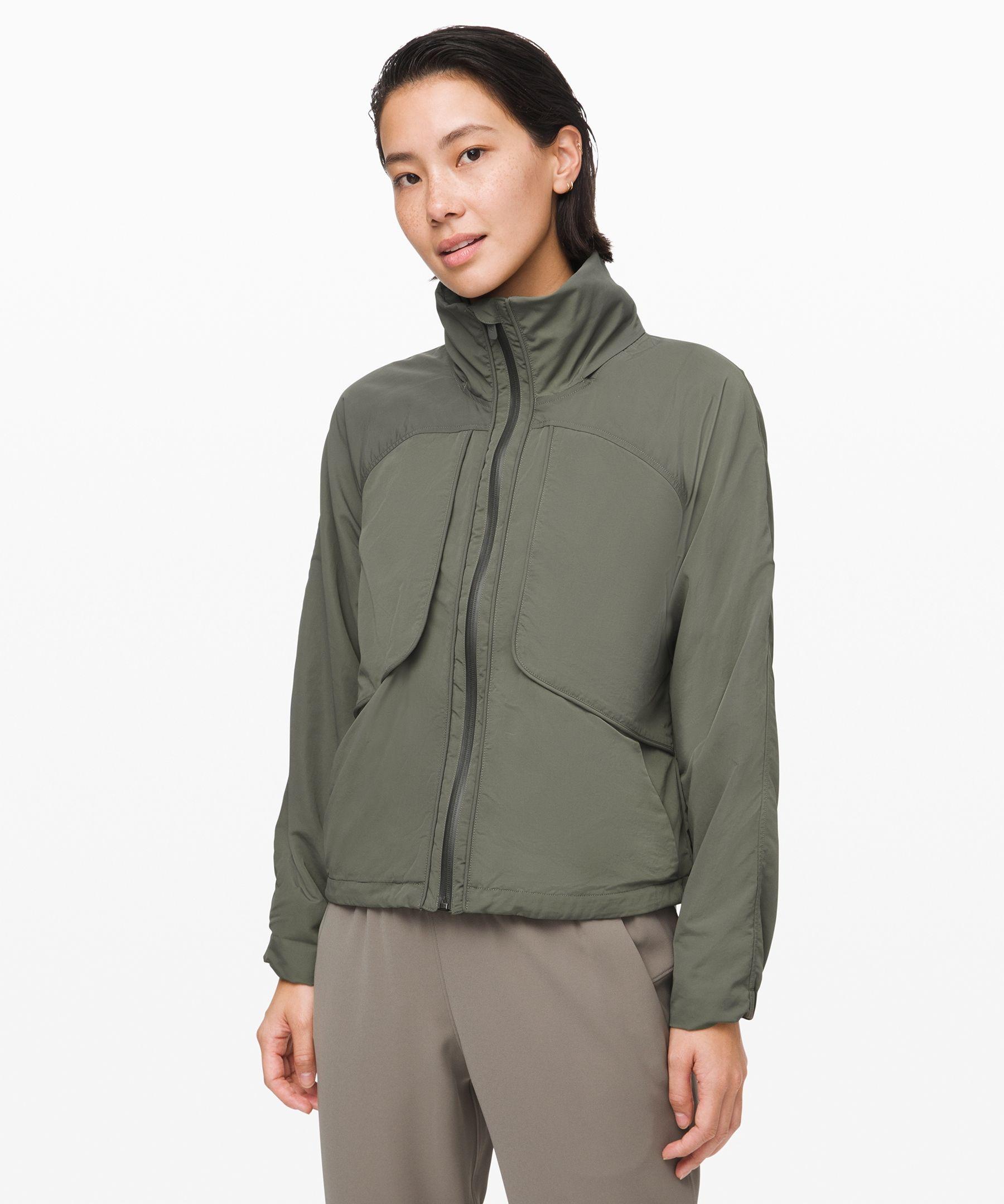 Lululemon Women S Always Effortless Jacket Grey Sage Size 0 Coats Jackets Women Jackets For Women Jackets [ 2159 x 1800 Pixel ]
