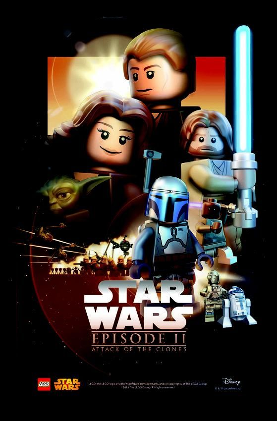 Lego Star Wars The Force Awakens Dual Sided Poster