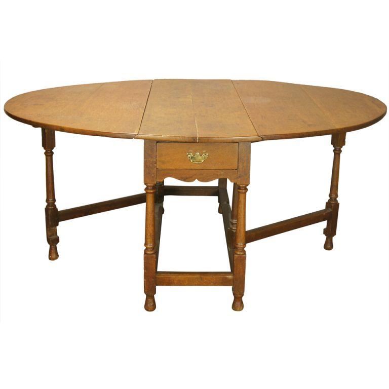 Beauteous Drop Leaf Table Large