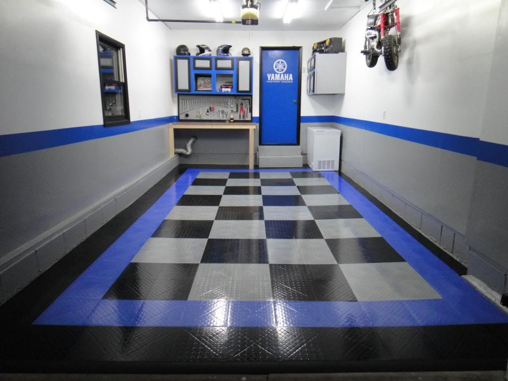 Single car garage revamp page 11 the garage journal board skill requirements for diy garage floor installations all garage pertaining to dimensions 1024 x 768 porcelain tile for garage floors this different sort dailygadgetfo Images