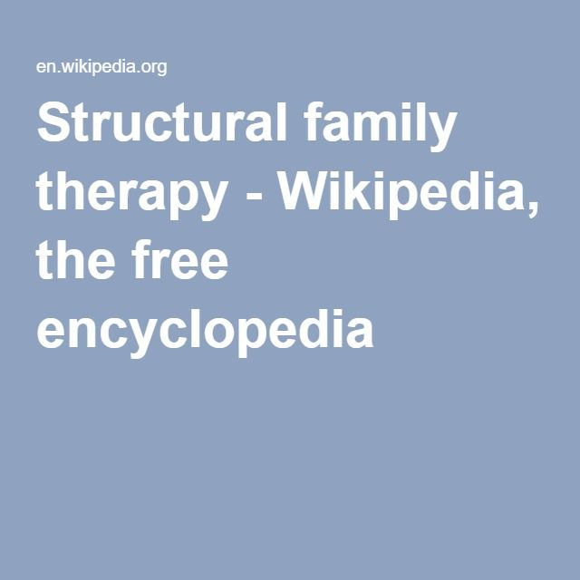 structural family therapy video