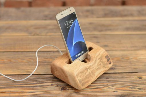 Wooden Samsung Stand Iphone Docking Station Samsung S6 Dock Useful Gift Desk Phone Stand Wooden Phone Holder Iphone Docking Station Wooden Docking Station