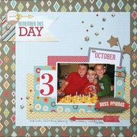 A Project by antenucci from our Scrapbooking Gallery originally submitted 06/20/13 at 08:03 AM
