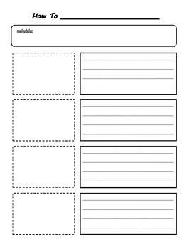instructions writing frame ks1