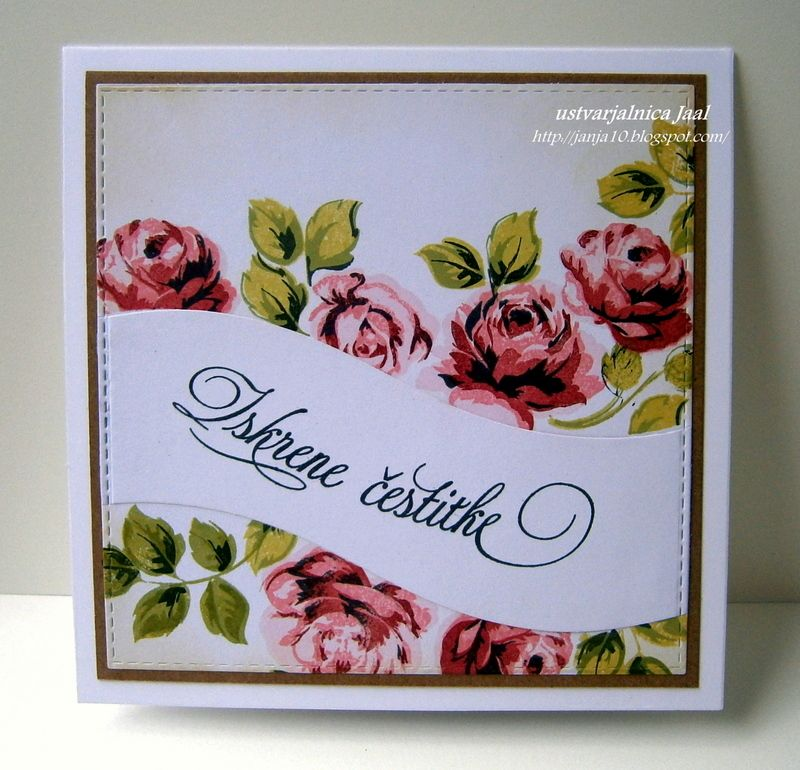 Altenew Clear Stamps - Vintage Roses