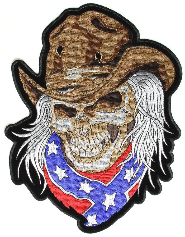 Pin On Rebel Flag Skull With Bandana Tattoo