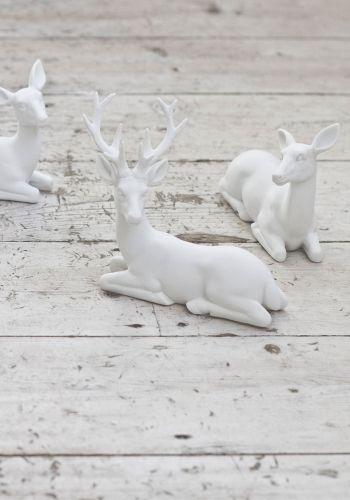 Céramique Renne pendaison décoration