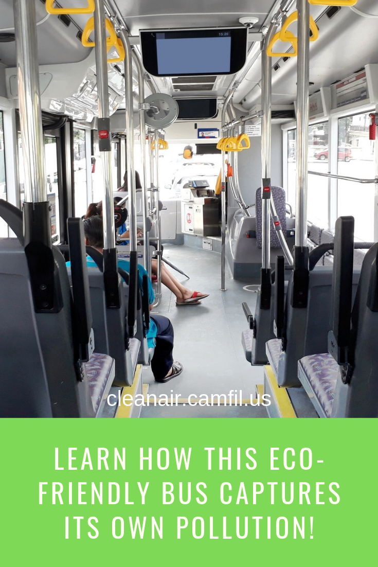 Learn How This EcoFriendly Bus Captures Its Own Pollution