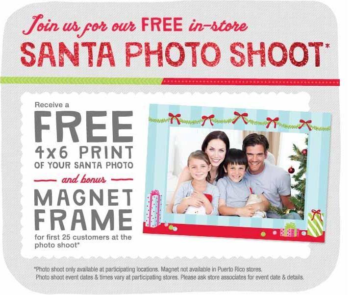 Walgreens – Free 4×6 Photo with Santa | free stuff  | Santa