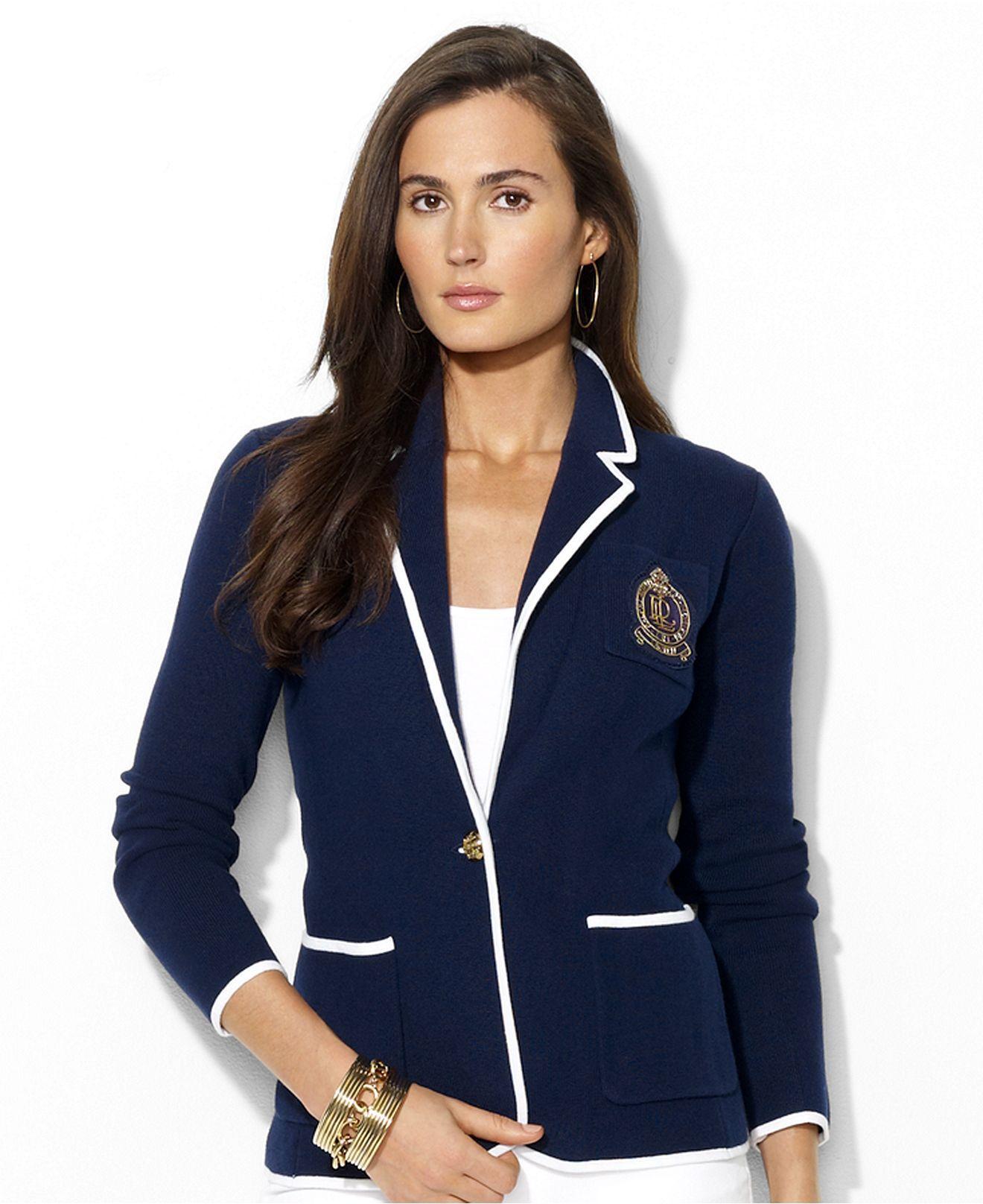 Lauren Ralph Lauren Suit Jacket Womens Last Style Suits & Suit Separates Clothing, Shoes & Accessories