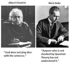 Image result for god does not play dice einstein