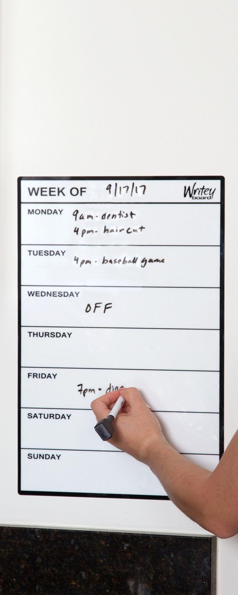 WriteyBoard Whiteboard Notepad