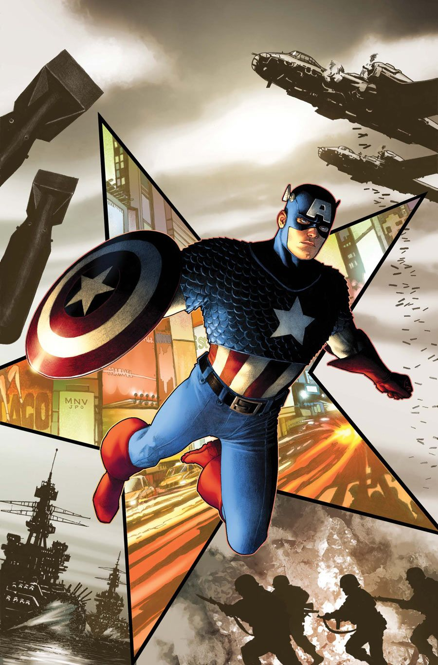steve rogers captain america biography books
