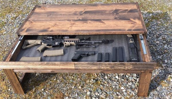 Concealment Coffee Table Diy Coffee Table Coffee Table With
