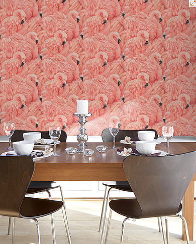 Flamingo wallpaper. flamingo wallpaper  home  obsession   Home   Pinterest   Office
