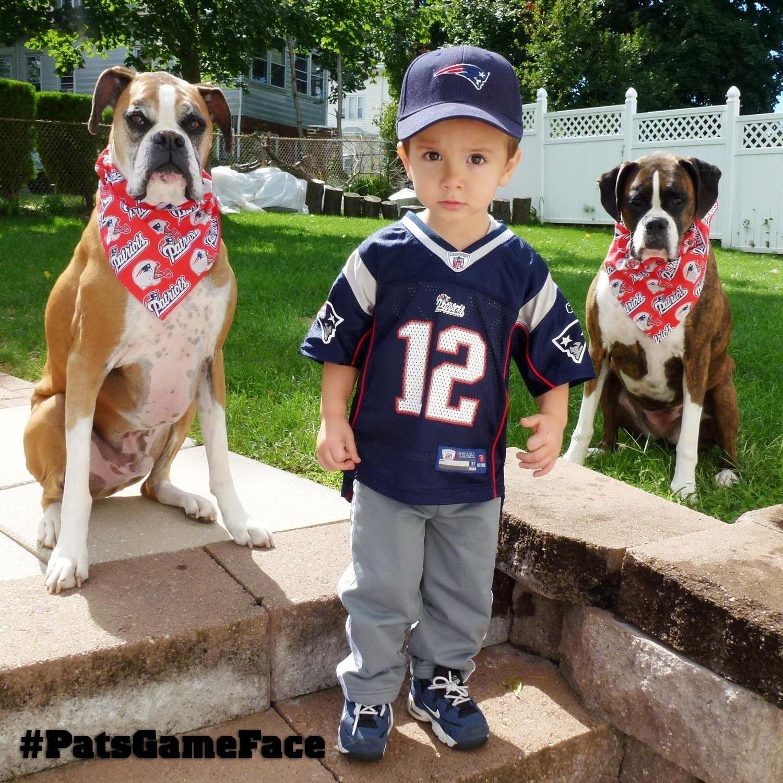 My new favorite Patriots' fan!