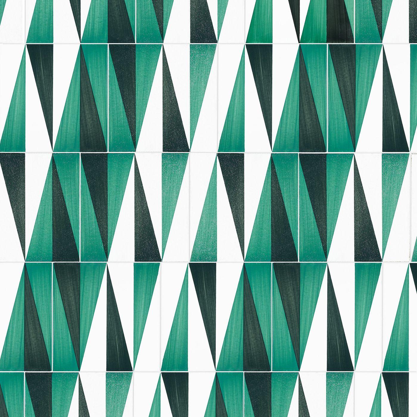 Gio Ponti; Glazed Ceramic Tiles by Ceramica D\'Agostino for the Hotel ...