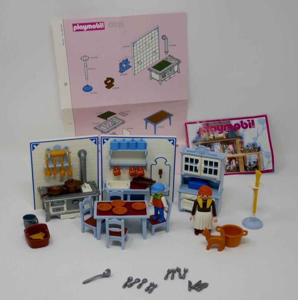Playmobil 5322 victorian dollhouse kitchen box