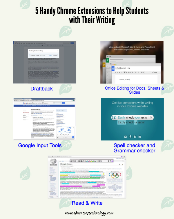 005 5 Handy Chrome Extensions to Help Students with Their