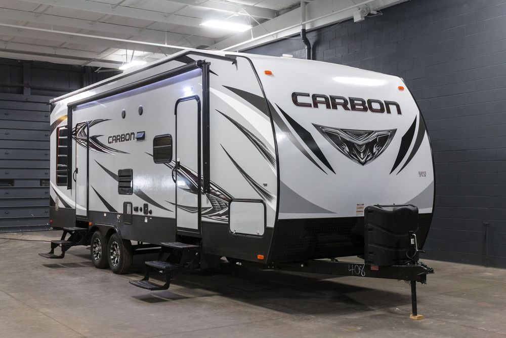 New 2017 Carbon 27 Toy Hauler Travel Trailer Camper in 2018