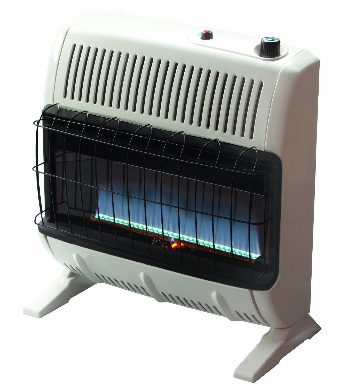 Amazon Com Mr Heater 30 000 Btu Natural Gas Blue Flame Vent Free Heater Space Heaters Propane Heater Natural Gas Wall Heater Natural Gas Garage Heater