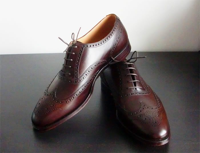 Crockett and Jones Finsbury in chestnut | Nice shoes for ...