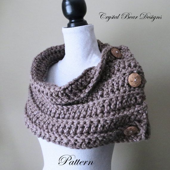 The Saskatoon Cowl Pattern Pattern No. 017 This chunky button-up ...