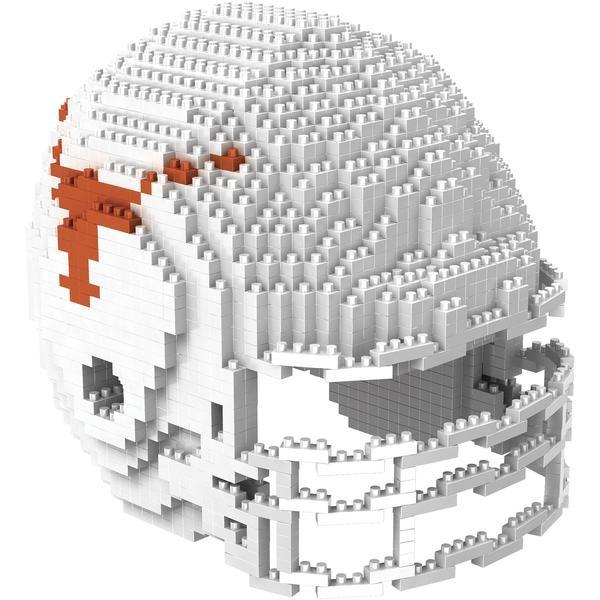 a6bf04f1348 Texas Longhorns NCAA 3D BRXLZ Helmet Puzzle Set